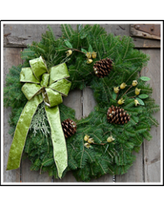 Wintergreen Wreath
